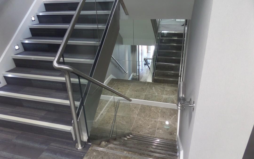 Warwick House Staircase, Esher, Surrey